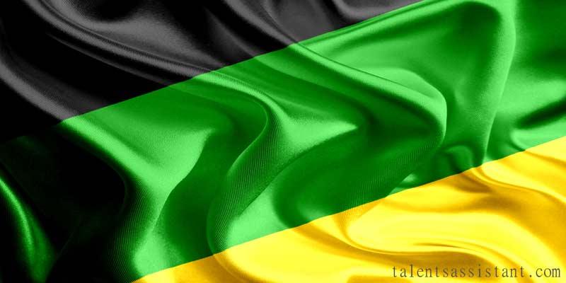African National Congress Flag