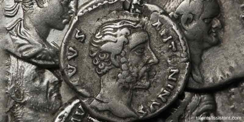 Antoninus Pius(138 B.C.) in Roman Coin