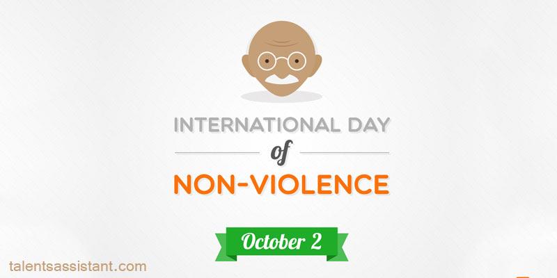 Gandhi and No-Violence