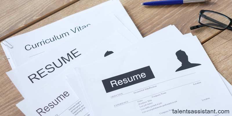 Similarities Between CV and Resume